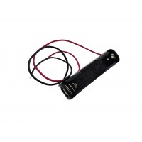 1x AAA Battery Holder with Loose Wires