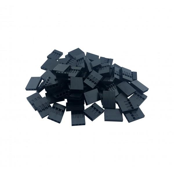 Dupont Plastic Behuizing - 4P - 1000 stuks