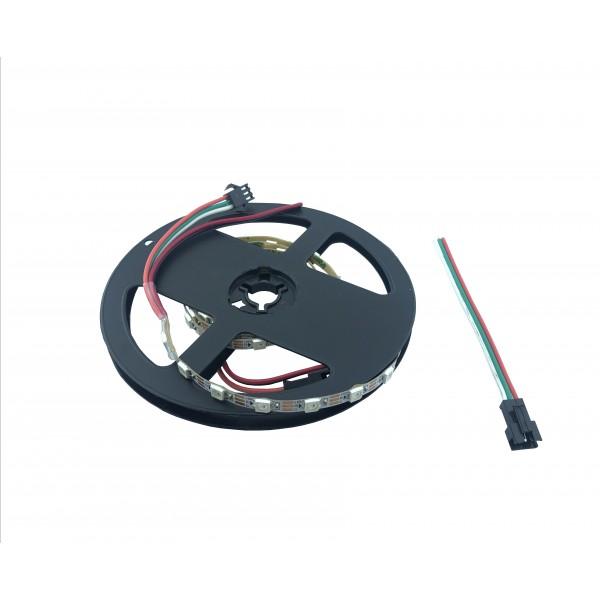 WS2812B Digitale 5050 RGB LED Strip - 60 LEDs 1m - 5mm