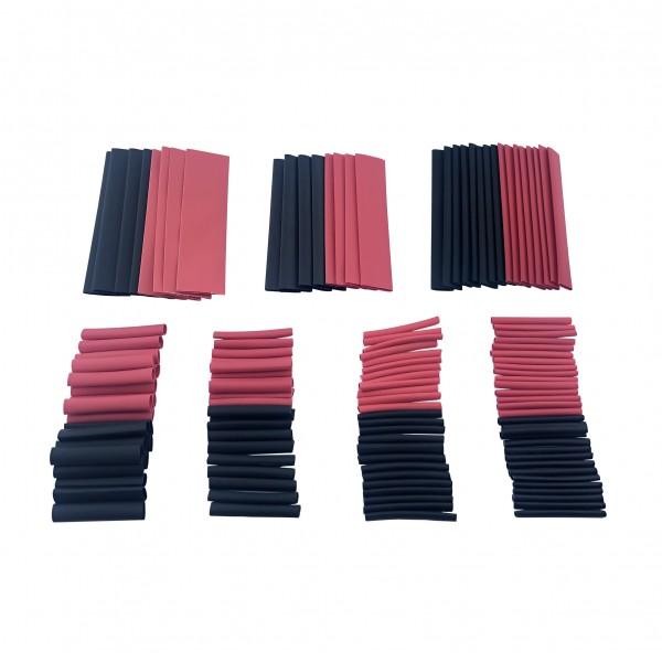 Heat Shrink Tubing Kit - Red-Black