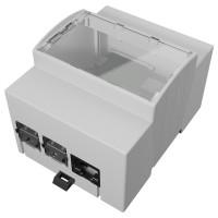 Italtronic 4M XTS - DIN Rail Behuizing voor Raspberry Pi 4