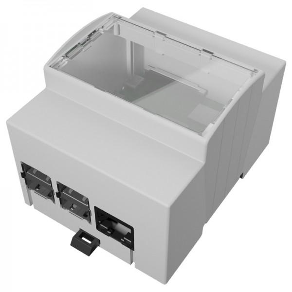 Italtronic 4M XTS - DIN Rail Enclosure for Raspberry Pi 4