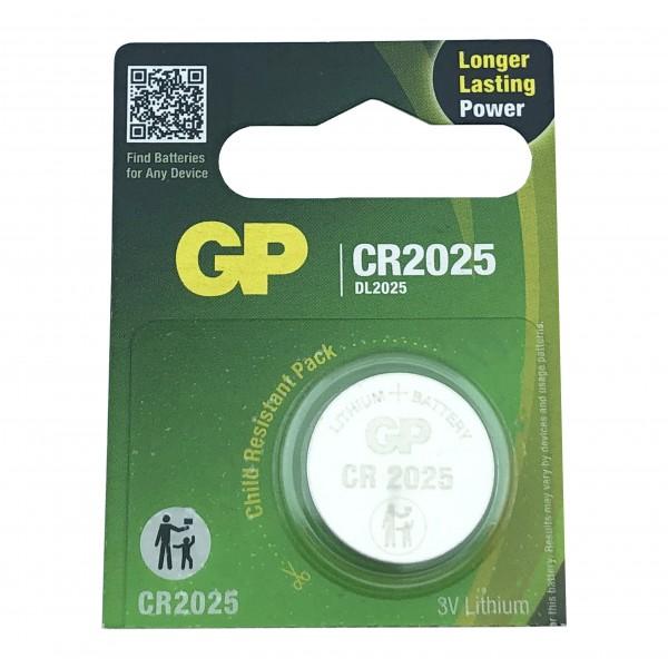 GP CR2025 3V Lithium Battery