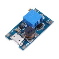 DC-DC Adjustable Step-up Boost Converter MT3608 2A - with Micro USB
