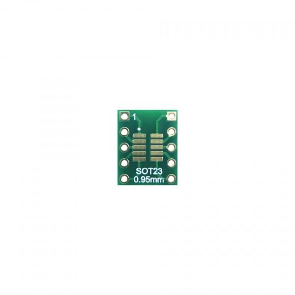 MSOP10 SOT23 naar DIP Adapter