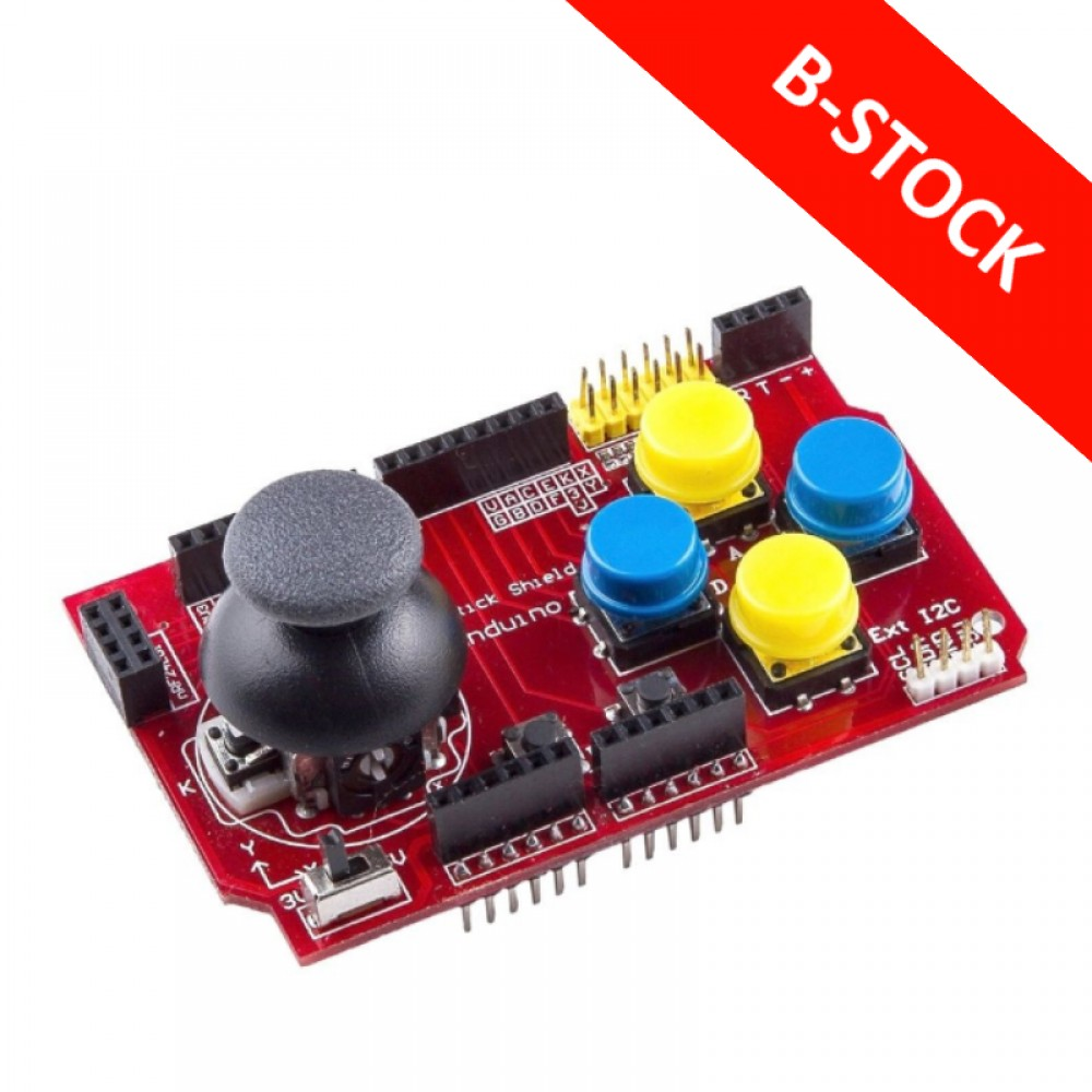 B-STOCK - Joystick Shield met NRF24 en Bluetooth adapter