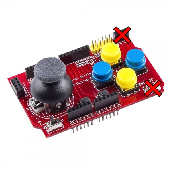 B-STOCK - Joystick Shield with NRF24 and Bluetooth adapter