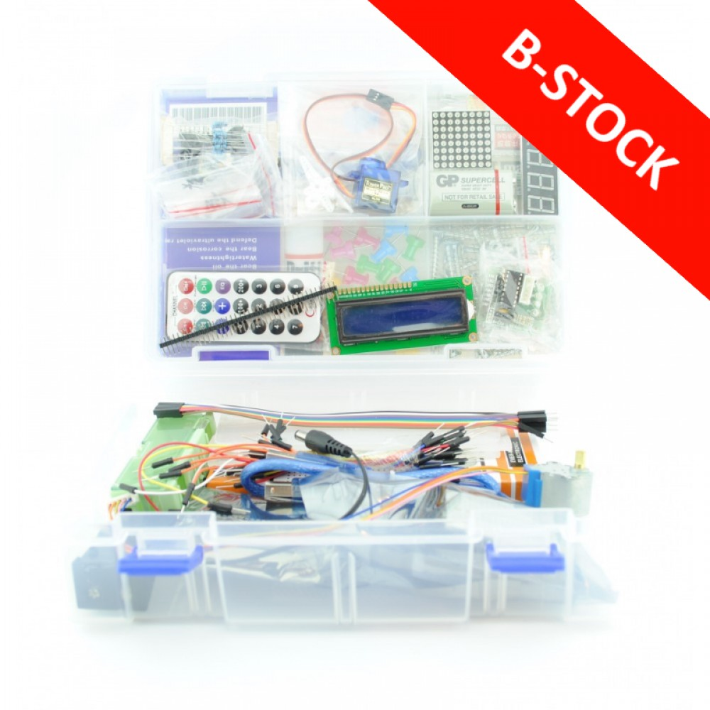 B-STOCK - Uno R3 Starters Kit
