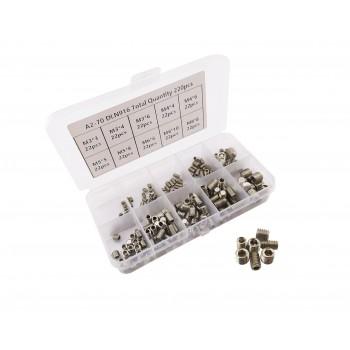 Set Screw Set - M3-M4-M5-M6-M8 - 220 pieces