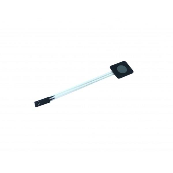 Membrane Keypad - 1 Button - Grey