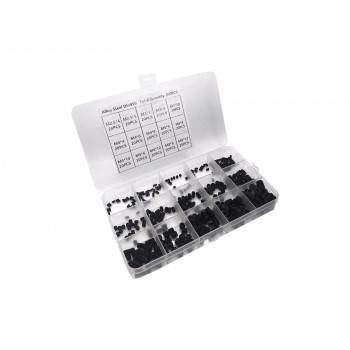 Set Screw Set - M2.5-M3-M4-M5-M6-M8 - including 6 Allen Keys - 300 pieces