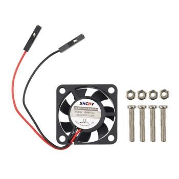 Ventilator 30x30x7mm - 5V - DuPont 2x1P - voor Raspberry Pi