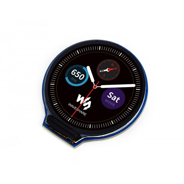 Waveshare 1.28 inch Rond IPS-TFT-LCD Display - 240*240 Pixels - SPI