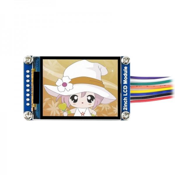 Waveshare 2 inch IPS-TFT-LCD Display - 240*320 Pixels - SPI
