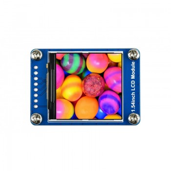 Waveshare 1.54 inch IPS-TFT-LCD Display - 240*240 Pixels - SPI