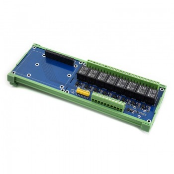 Waveshare RPi Relay Board (B) - 8 Kanalen - voor Raspberry Pi