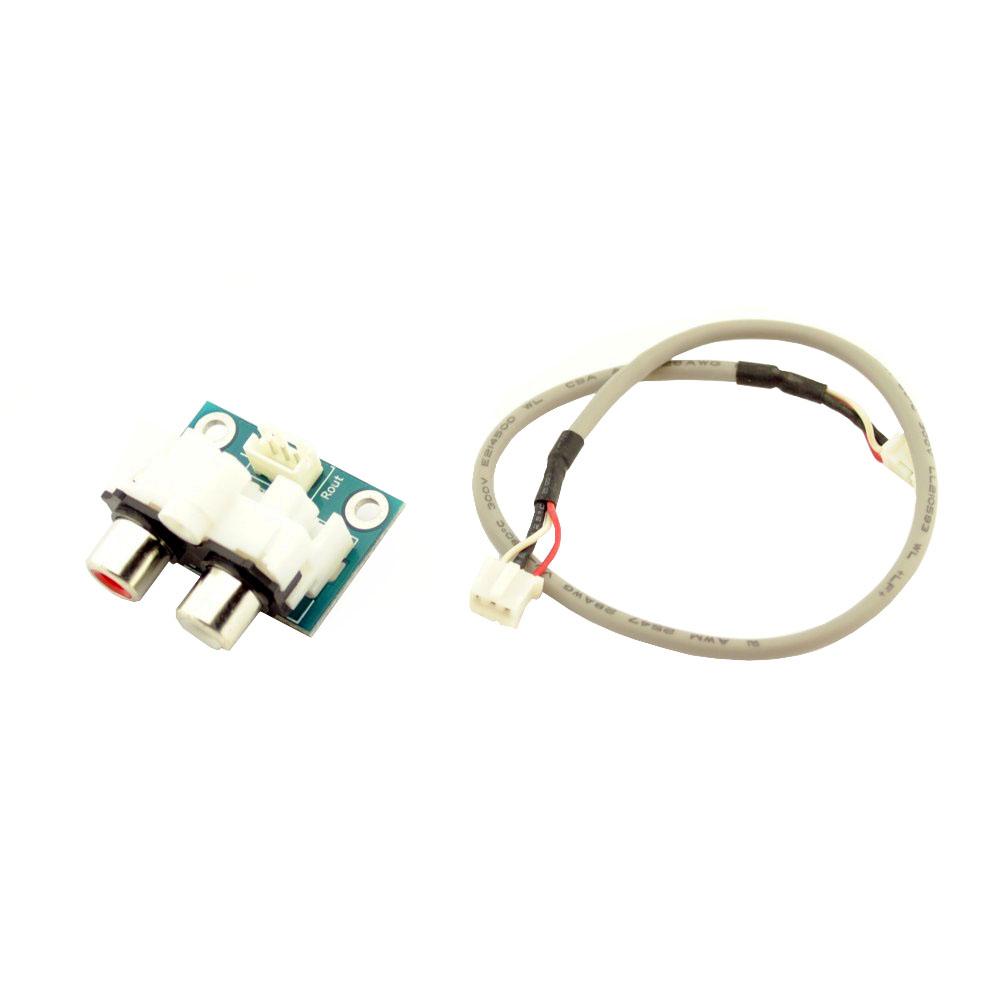 RCA-Tulp Female Board met kabel