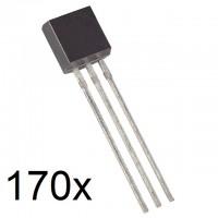 Transistor Set - TO-92 - 170 pieces