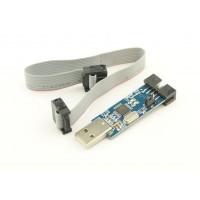 USBasp - USB AVR Programmer with flatcable