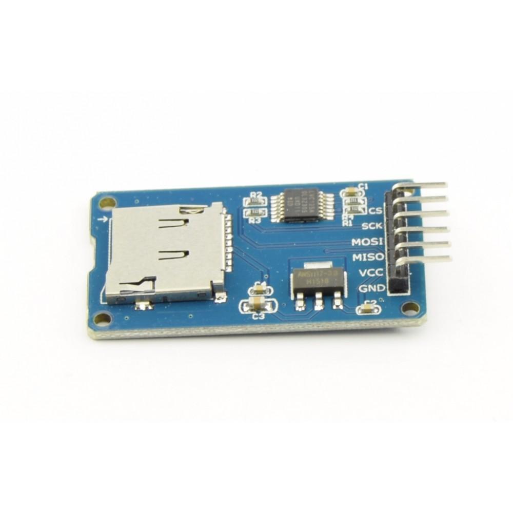 Microsd Card Adapter Module 33v 5v With Level Shifter Microsdadap
