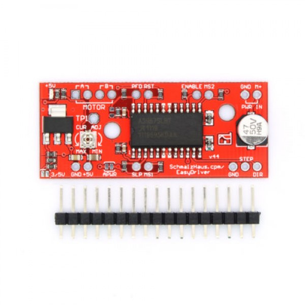 A3967 EasyDriver Stepper motor controller