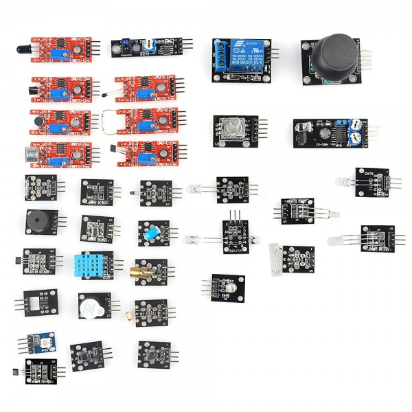 Modules and Sensors Kit 35-in-1