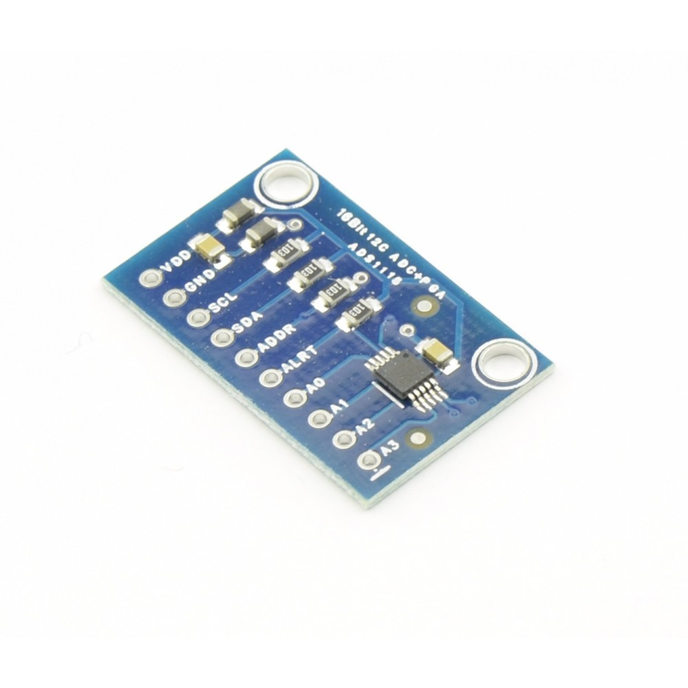 ADS1115 16-bit ADC I2C Module - 4 channel