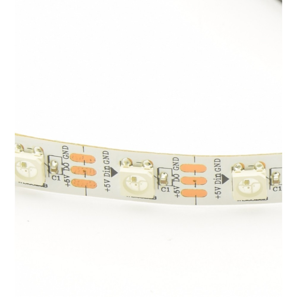 WS2812B Digitale 5050 RGB LED Strip - 60 LEDs 1m