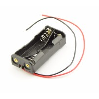 2x AAA Battery Holder with Loose Wires