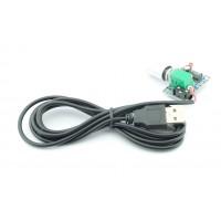 2x3W stereo audio versterker mini 5V PAM8403 Volume control met USB kabel