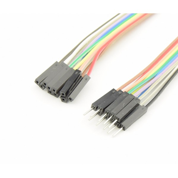 DuPont Jumper wire Male-Female 30cm 10 wires