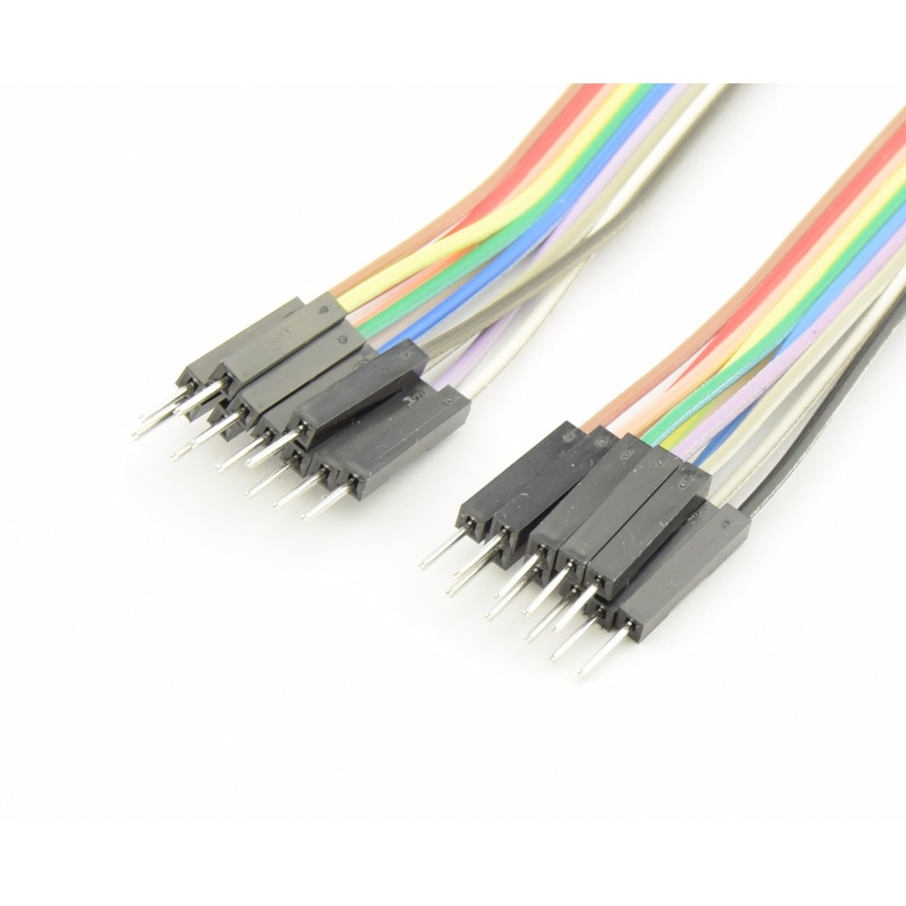 DuPont Jumper wire Male-Male 10cm 10 wires