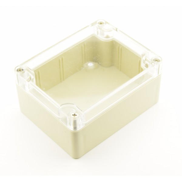 Enclosure 115x90x55mm - Transparent