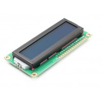 LCD Display 16*2 characters with white text and blue backlight
