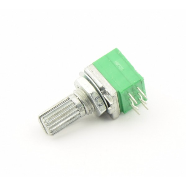 10kΩ Audio Potmeter - 2-kanaals - Lineair
