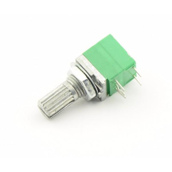 10kΩ Audio Potmeter - 1-kanaals met Schakelaar - Lineair