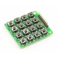 Keypad 4x4 matrix - Tactile Switch