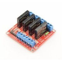 5V Solid State Relay 4-channel high-active - 2A