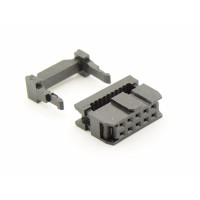 Female Header Flatcable Connector 10P - 2x5P