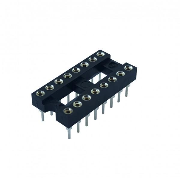 16 Pins IC voet - Dubbelzijdig soldeerbaar