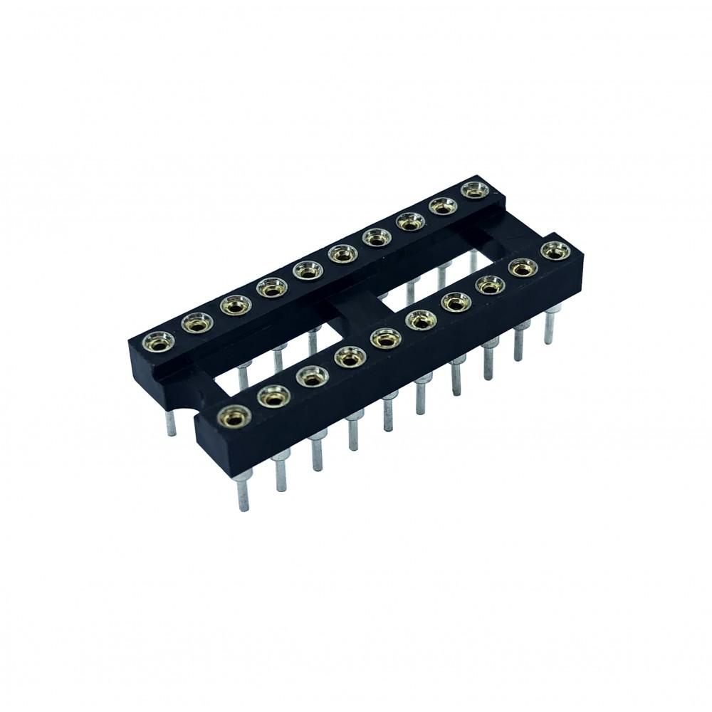20 Pins IC voet - Dubbelzijdig soldeerbaar