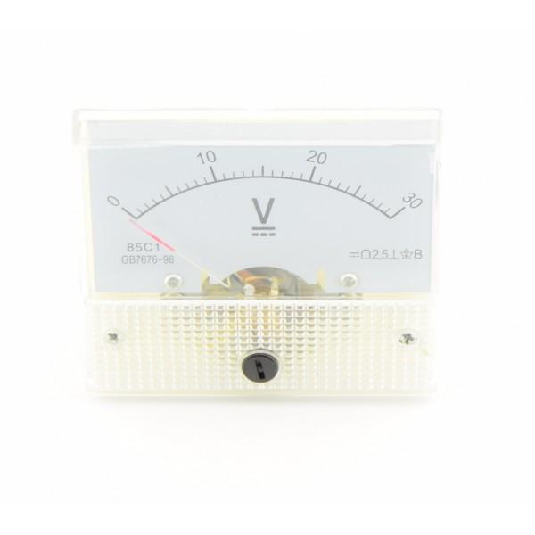 Analog Voltage meter - 0-30VDC