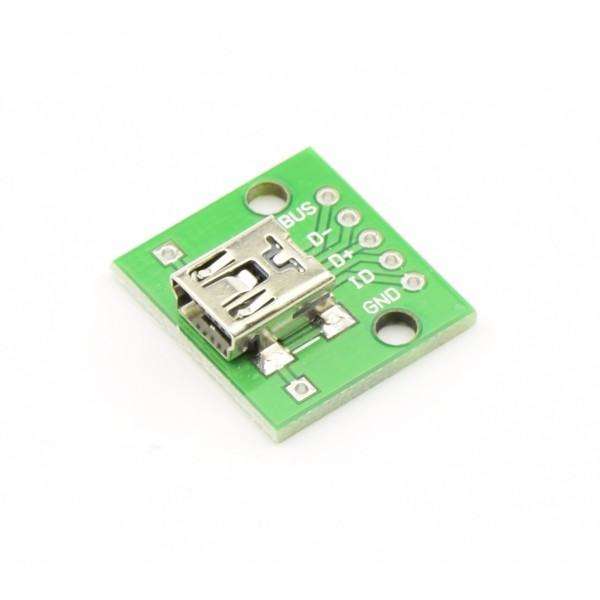 Mini USB DIP adapter