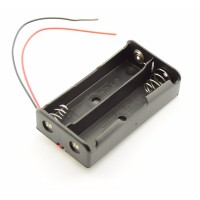2x 18650 Battery holder with loose wires