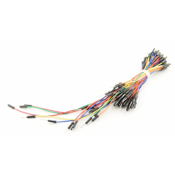 Breadboard wires 65 pieces - various sizes