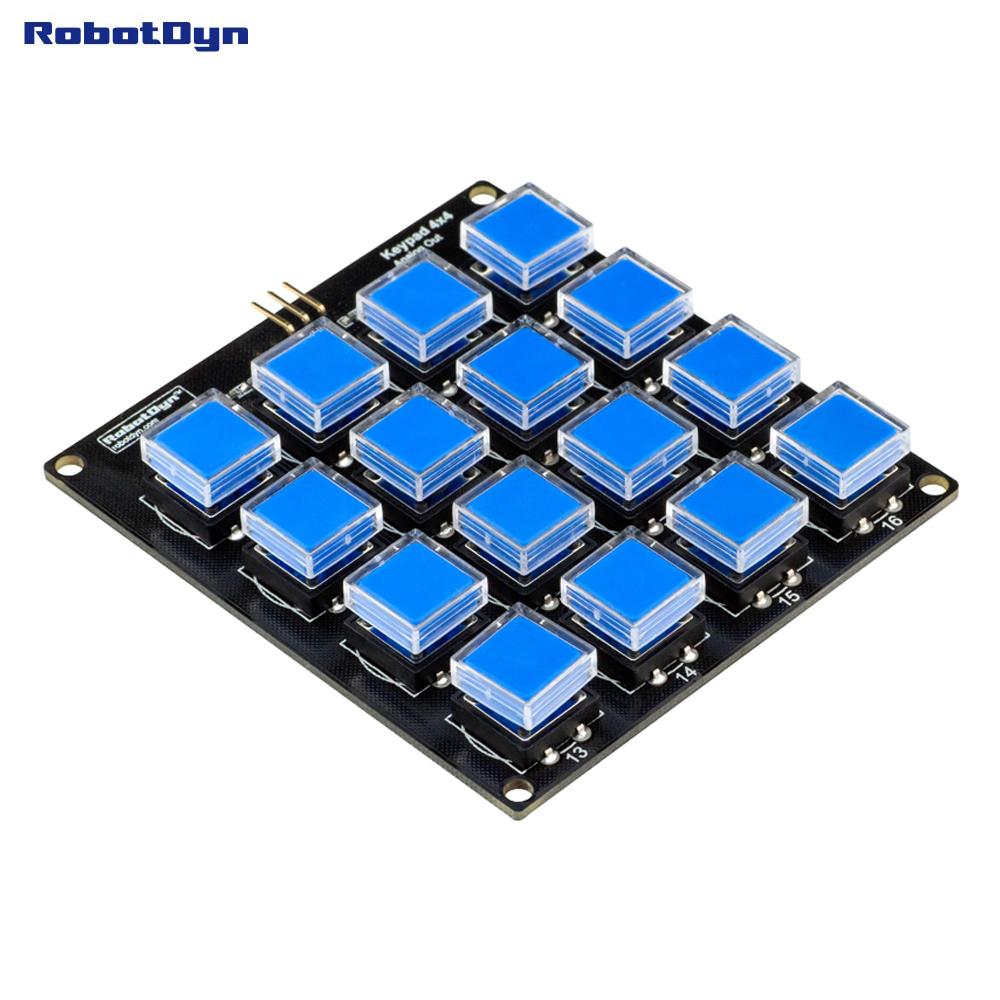 RobotDyn Keypad 4x4 Matrix - Analoog