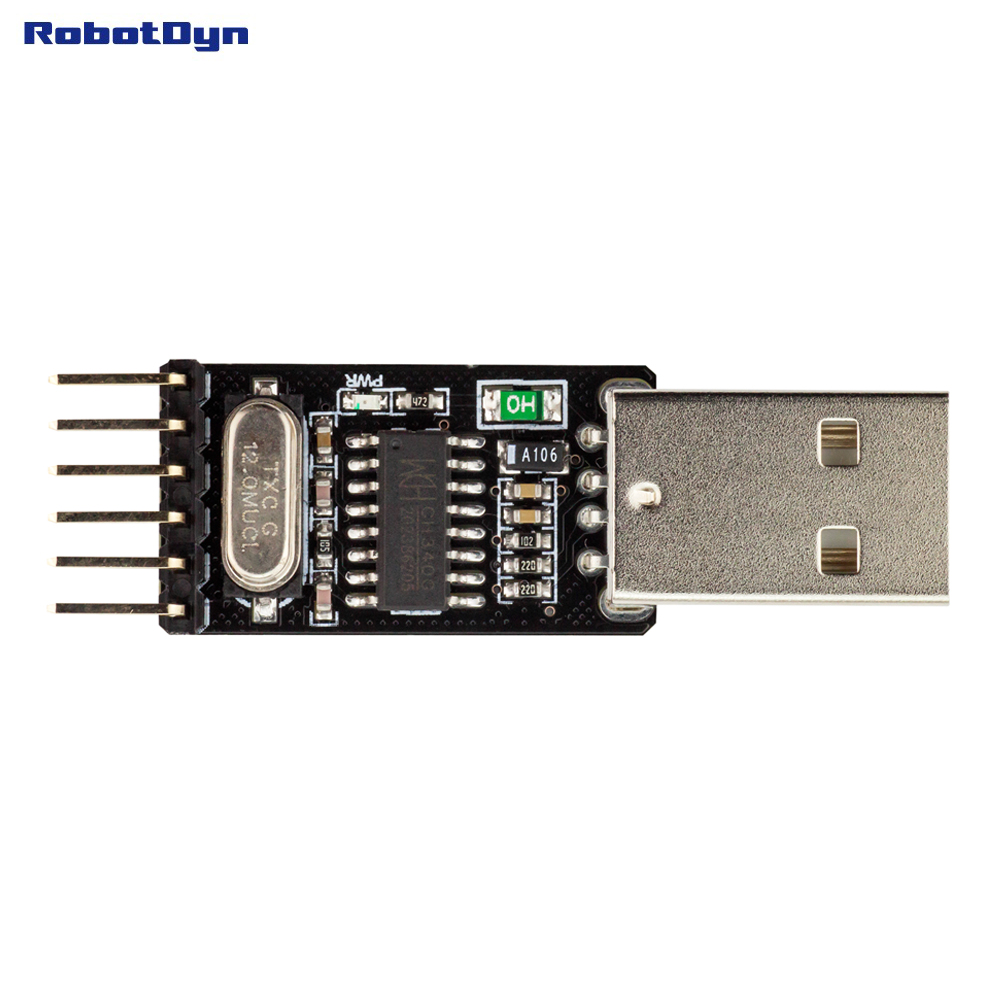 RobotDyn CH340 USB Serial Port Adapter