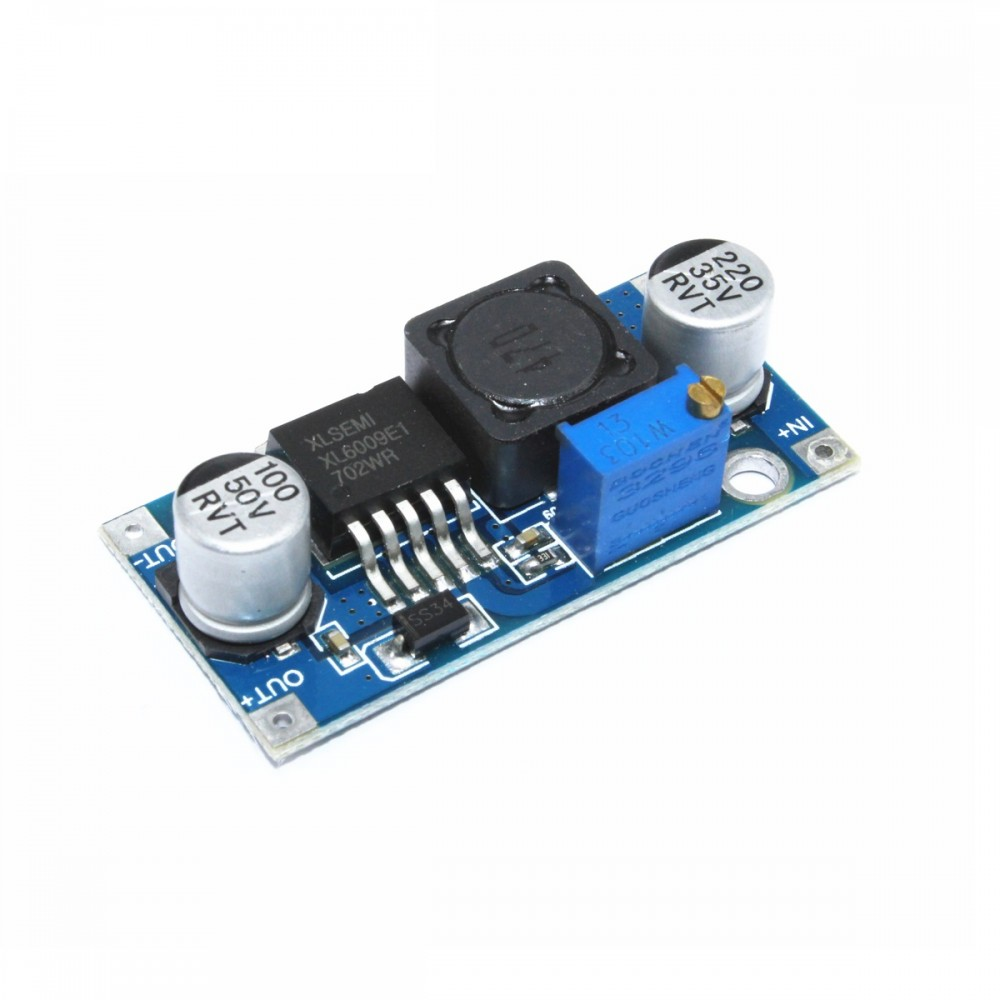 DC-DC Verstelbare Step-up Boost Converter XL6009 4A