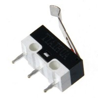 Micro Switch with Lever - Rounded