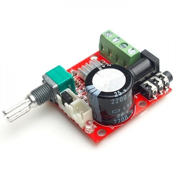 PAM8610 2x15W Audio Versterker Mini 12V